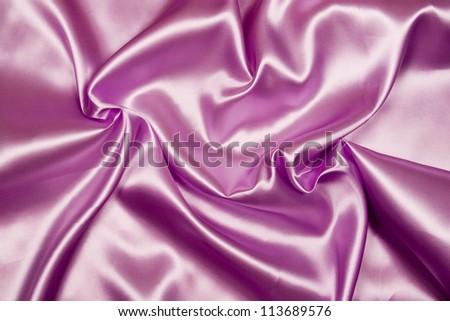 Smooth elegant satin silk fabric as background