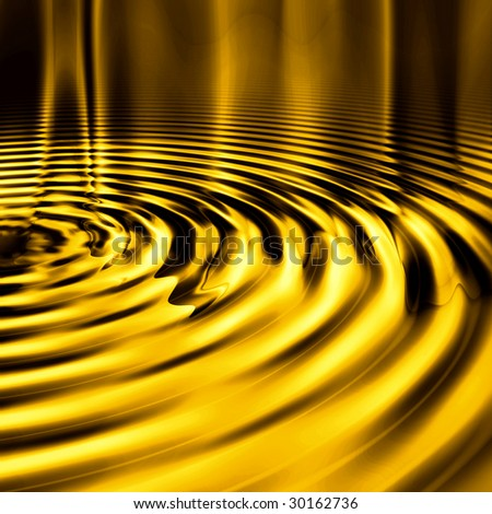 Smooth Gold Ripples