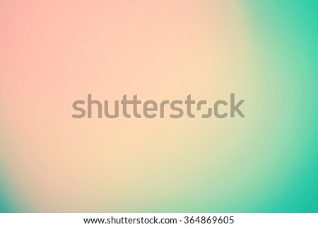 Smooth Gradient Background with beige, turquoise colors
