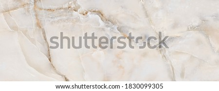 Smooth Onyx Marble Texture Background, Natural Onyx Marble Texture For Abstract Interior Home Decoration Used Ceramic Wall Tiles And Floor Tiles Surface. Foto stock ©