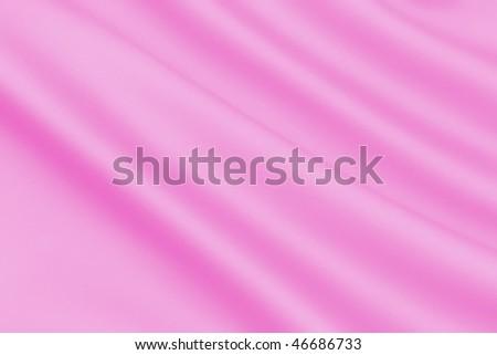 Smooth Pink Satin