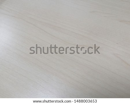 Smooth plywood table Smooth  cream color