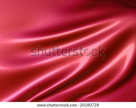 Smooth silk cloth background - stock photo