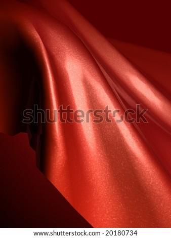Smooth silk cloth background