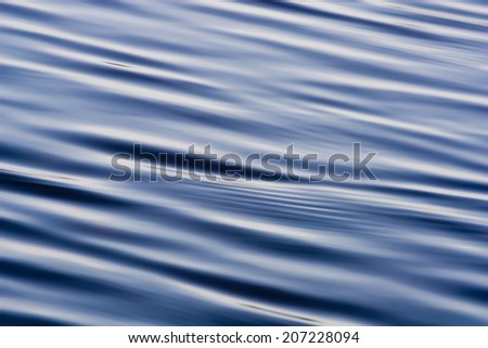 Smooth water surface with small ripples background image