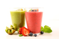 smoothie, fruit juice for summer