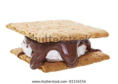 S'mores Clip Art http://www.shutterstock.com/pic-81156556/stock-photo-smores-graham-wafer-crackers-with-melted-marshmallows-and-chocolate-this-camping-favorite-is.html