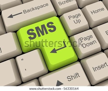 sms key