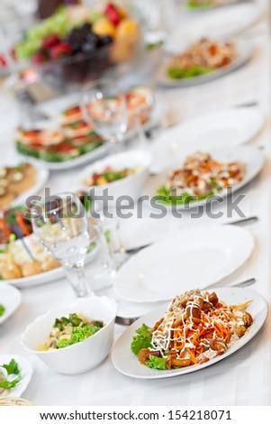 Snack from marinaded mushrooms