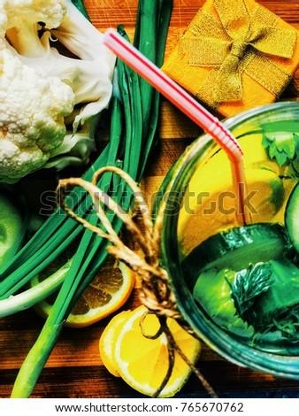 snacks for detox Stok fotoğraf ©