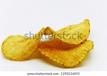 Snacks snacks, potato  chips Backgrounds/textures .