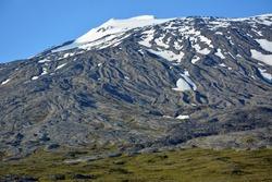 Snaefellsjokull in iceland
