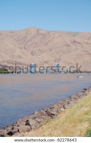Snake River Lewiston, Idaho - stock photo