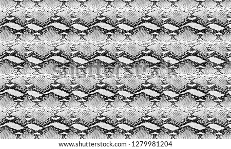 Snake skin background for textile printing, wrapping, decoration and fashion