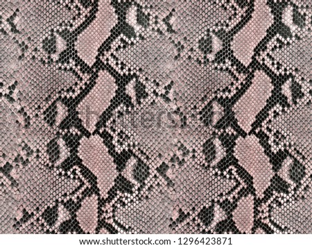 Snake skin pattern texture repeating seamless monochrome Texture snake. Fashionable print. Fashion and stylish background