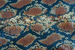 snake skin texture brown black