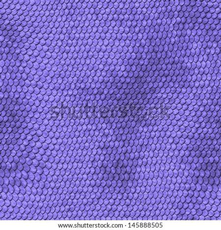 Snakeskin leather, purple background