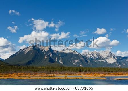 Snaring River, Jasper National Park, Alberta, Canada