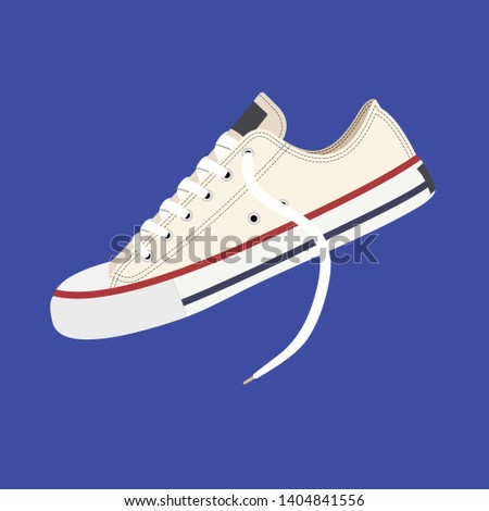 Sneakers. Youth sneakers for sports