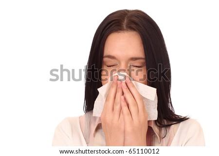 sneeze girl