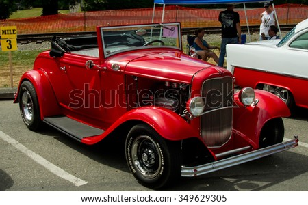 SNOQUALMIE WA AUGUST Legends Classic Car Show On - Classic car show washington