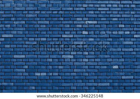 snorkel blue brick wall...