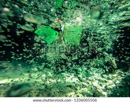 snorkel snorkelling underwater #1336005506