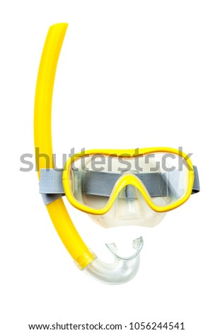 Snorkeling mask and tube #1056244541