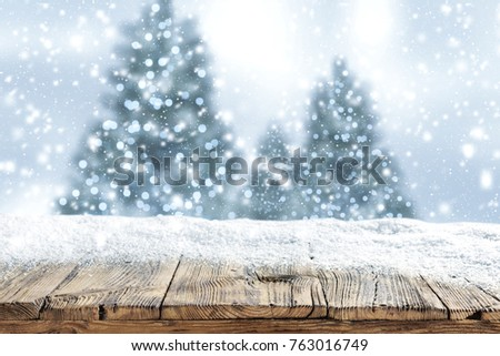 snow background and christmas...