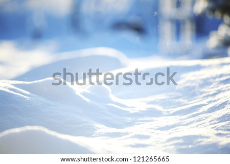 snow background close up #121265665