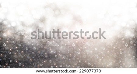Snow Christmas background - Shutterstock ID 229077370