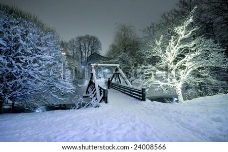 Snow in Oslo