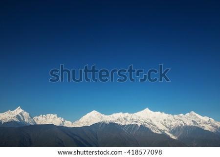 Snow mountain #418577098