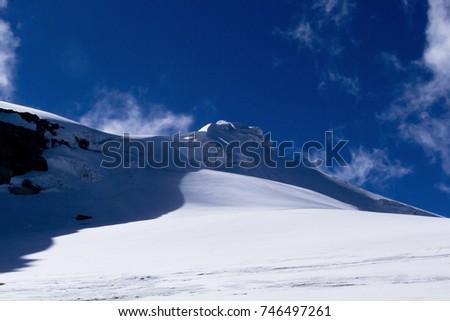 snow mountain  #746497261