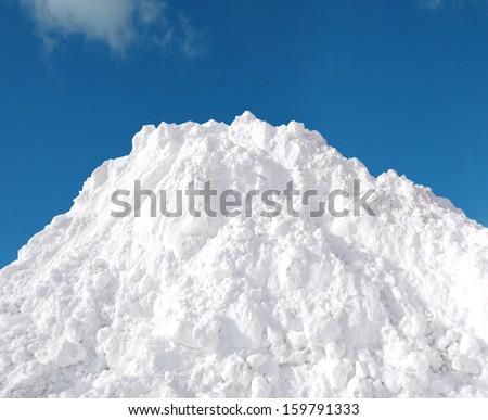 Snow Pile, Hill