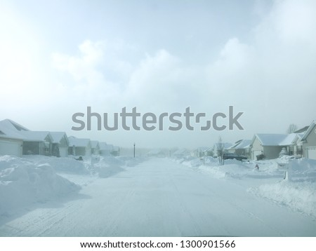 Snow Storm Blizzard Background Cold Winter White Snowstorm Snow Polar Vortex Sub Zero Haunting Housing Suburban Development