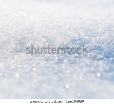 snow texture in the photo