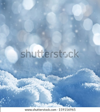 snow - textured background with empty space for text #159156965