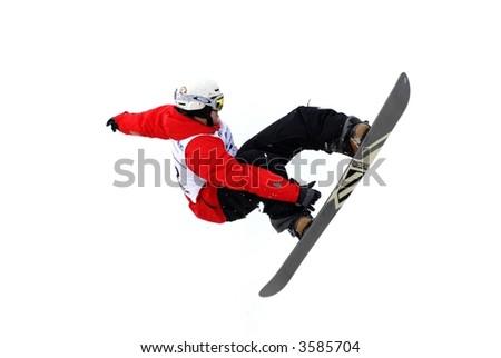 snowboarder - Shutterstock ID 3585704