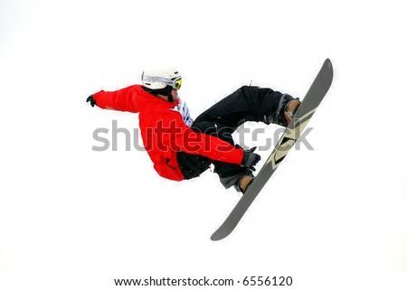 snowboarder - Shutterstock ID 6556120
