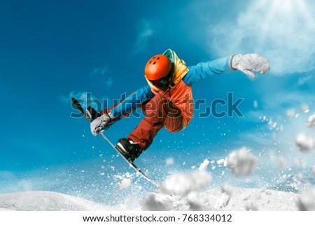 Snowboarding sport photo #768334012