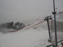 snowcannons at Silichy Belarus