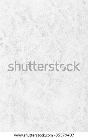 Snowflake decoration, winter holiday background.