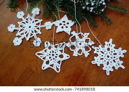 Snowflakes  #741898018