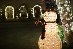 Snowman of Palos Verdes Christmas Parade