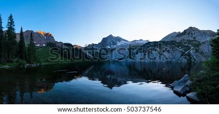 Snowmass Lake at Sunrise