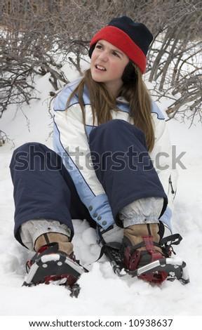 Snowshoe Girl