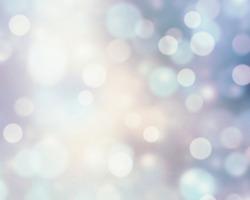 Snowy white&blue blur background.