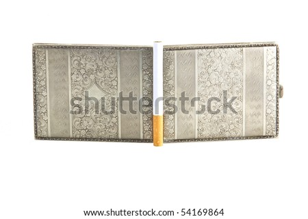snuffbox isolated