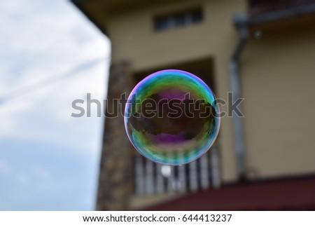 Soap bubble #644413237